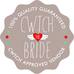 Cwtch the Bride logo