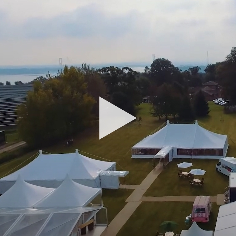 County Marquees Aerial Video