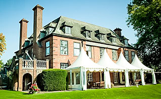 Marquees in Wedding Venue